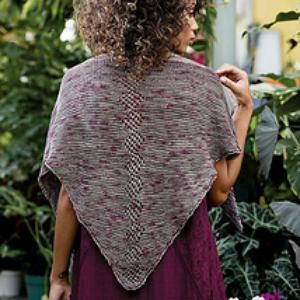 Ironwood Shawl in Love of Knitting